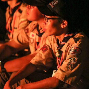 富士特別野営2016にVS隊から参加スカウトとして1名、RS隊から上班として1名参加しています。
