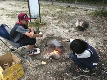 新入隊員歓迎キャンプ1日目