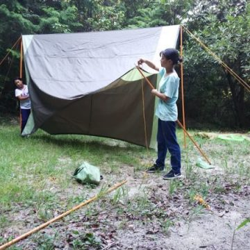 団合同キャンプ(1日目~2日目)