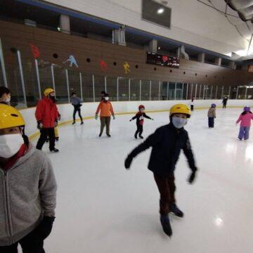 スケートに行ったよ
