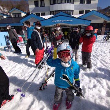 団スキーに行きました!